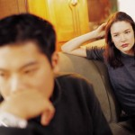 Divorce Helper - Signs your marriage is in trouble, angry husband and wife